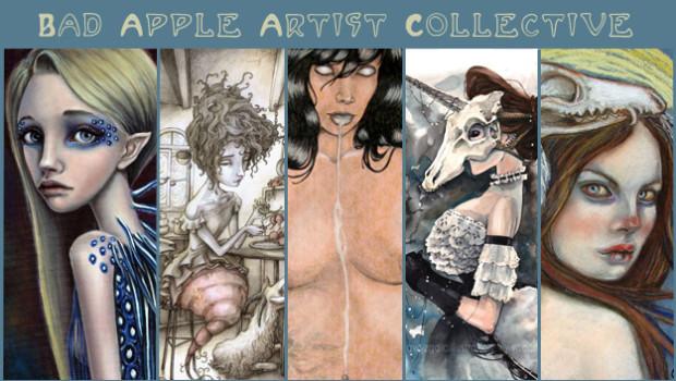 bad apple artist collective squarepop